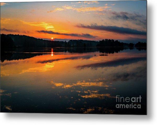 Savannah River Sunrise - Augusta Ga 2 Metal Print