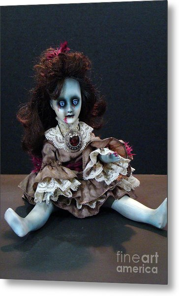 Scary Mary Metal Print