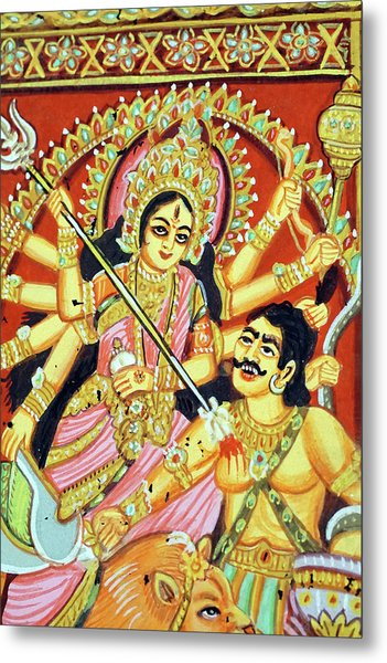 Scenes From The Ramayana Metal Print