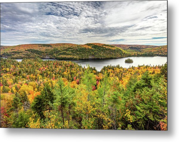 Metal Print featuring the photograph Scenic Autumn Landscape by Pierre Leclerc Photography