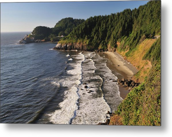 Scenic Oregon Coast Near Florence By Aimintang