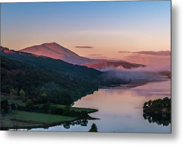 Schiehallion  From Queen's View Metal Print by David Ross