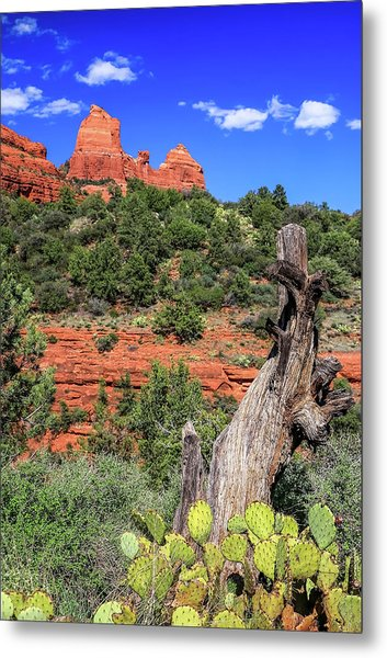 Schnebly Hill View, Sedona Metal Print