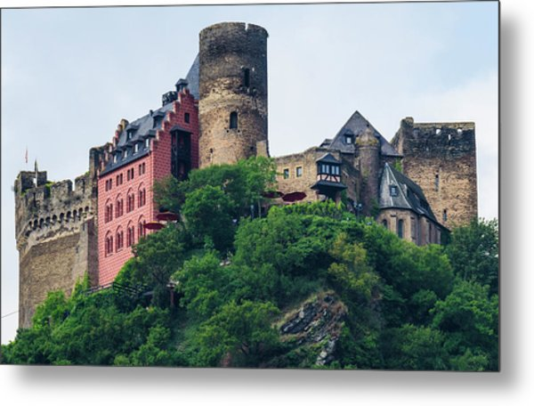 Schonburg Castle Metal Print