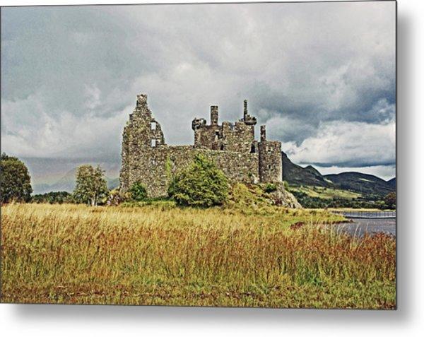 Scotland. Loch Awe. Kilchurn Castle. Metal Print