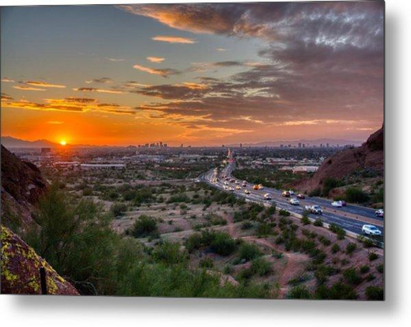 Scottsdale Sunset Metal Print