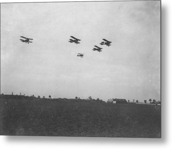 Se5 Formation Metal Print by Spencer Arnold Collection
