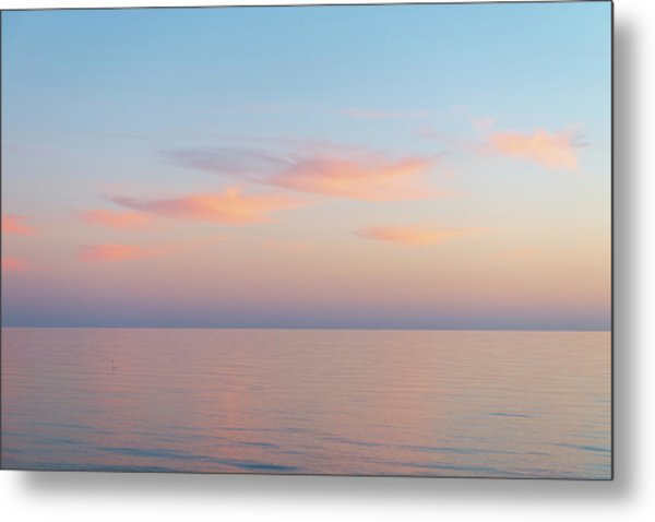 Metal Print featuring the photograph Sea by Mirko Chessari