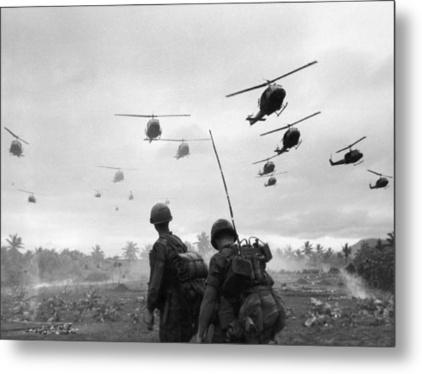Search And Destroy Metal Print