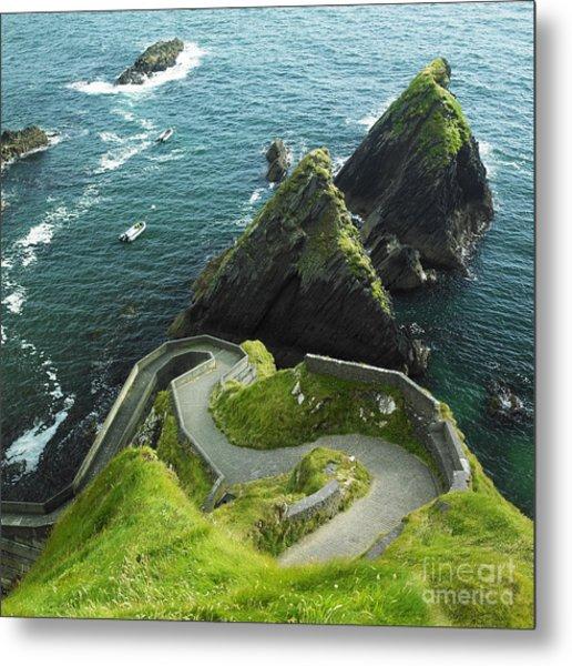 Seascape, County Kerry, Ireland Metal Print