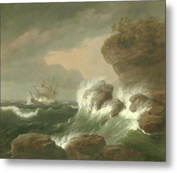 Seascape, 1835 Metal Print
