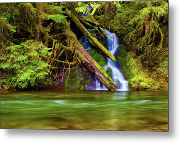 Seasonal Runoff Metal Print