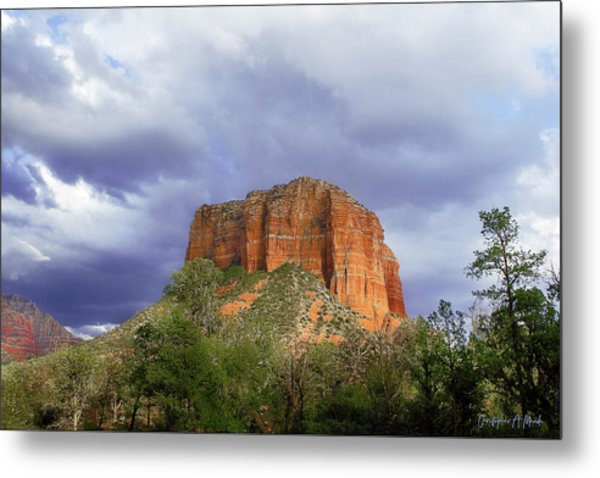 Devil's Mountain Metal Print