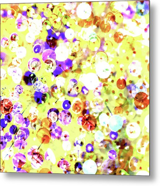 Sequins And Pins 2 Metal Print