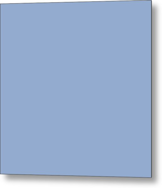 Serenity Blue - Color Of The Year 2016 Metal Print