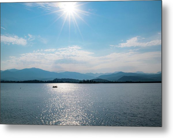 Shadow Mountain Lake Metal Print