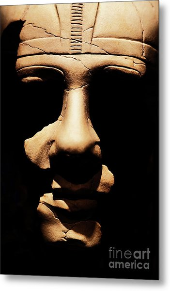 Metal Print featuring the photograph Shadows Of Ancient Egypt by Sue Harper
