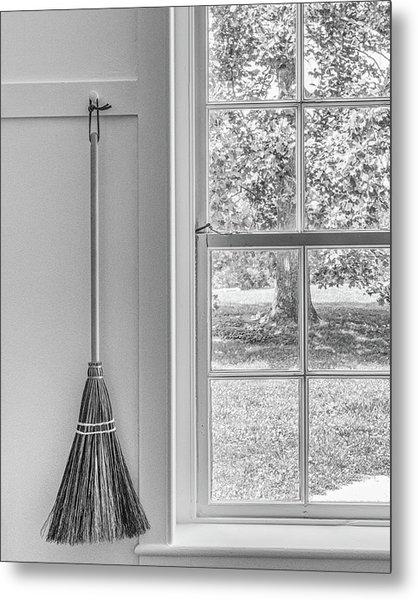Shaker Broom Metal Print