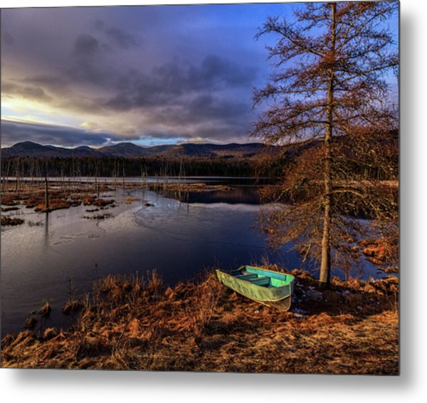 Shaw Pond Sunrise - Landscape Metal Print