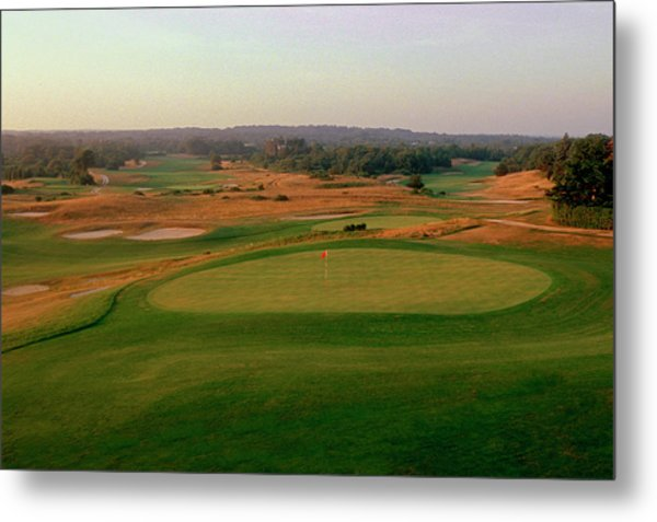 Shinnecock Hills Golf Course  -  9th Metal Print