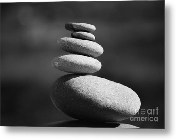 Short Stack 2 Metal Print