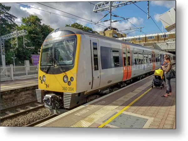 Siemens Mobility 360 Desiro Heathrow Connect Train Metal Print