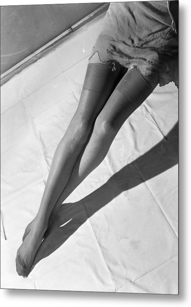 Silk Stockings Metal Print by Chaloner Woods