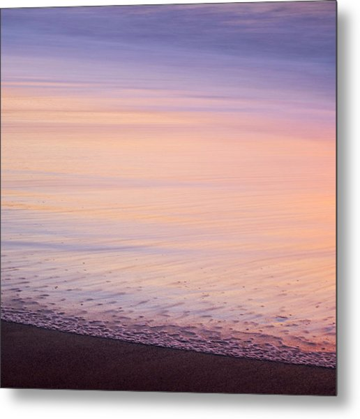 Silky Sea Metal Print