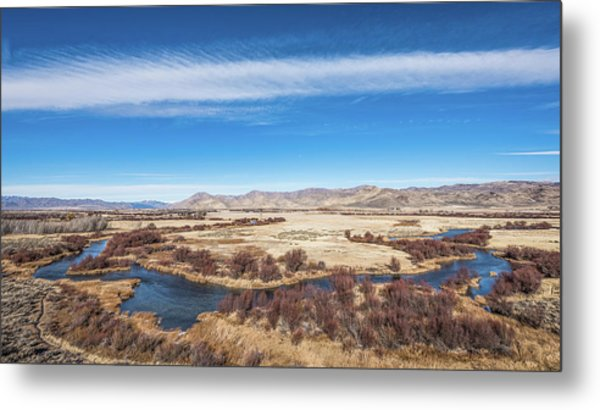 Silver Creek Metal Print