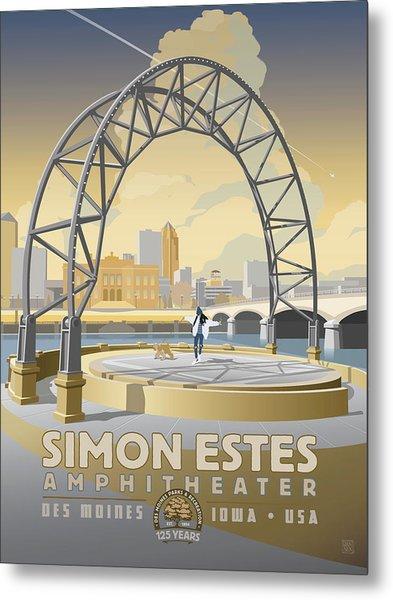 Simon Estes Amphitheater Metal Print