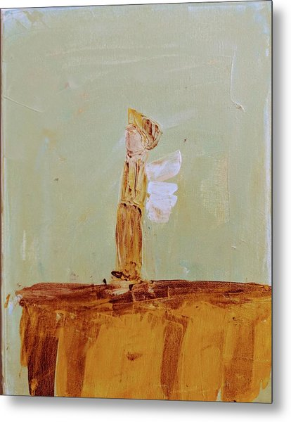 Simply Sweet Angel Boy Metal Print