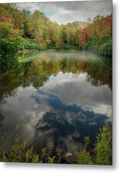Sims Pond Blowing Rock North Carolina Metal Print