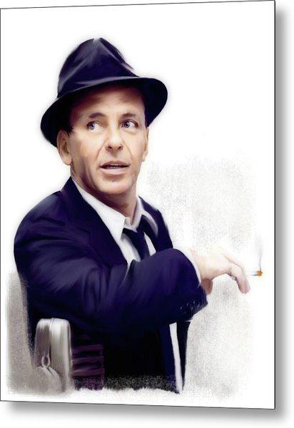 Frank Sinatra Sinatra Metal Print
