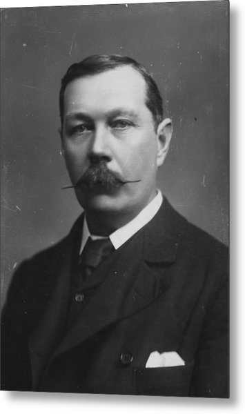 Sir Arthur Doyle Metal Print by Hulton Archive