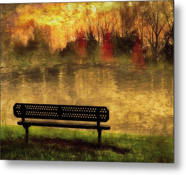 Sit And Admire Metal Print