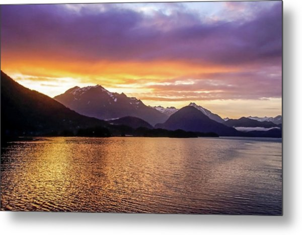 Metal Print featuring the photograph Sitka Sunrise by Dawn Richards