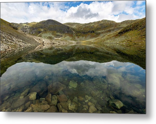 Metal Print featuring the photograph Skarsvotni, Norway by Andreas Levi