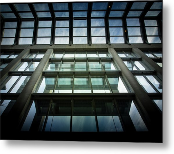 Sky At The National Gallery Of Canada Metal Print