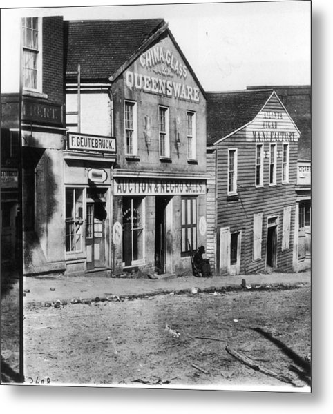 Slave Market Metal Print by Fotosearch