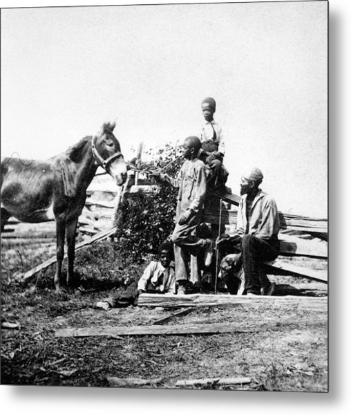 Slaves Metal Print by Archive Photos