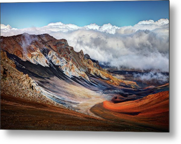Sliding Sands Trail, Haleakala National Metal Print
