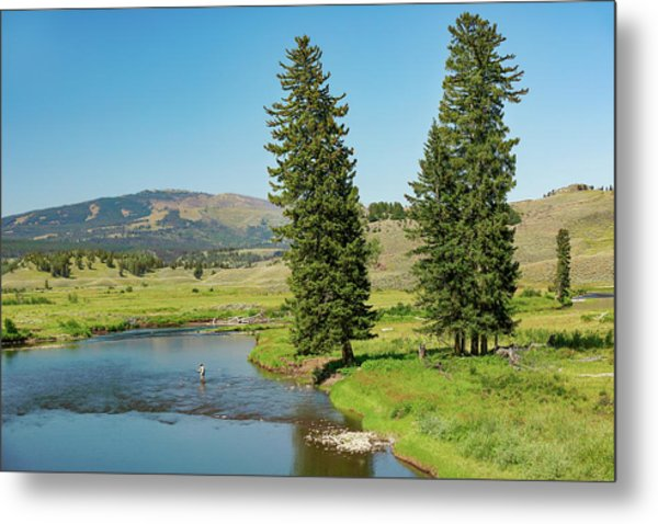 Slough Creek Metal Print