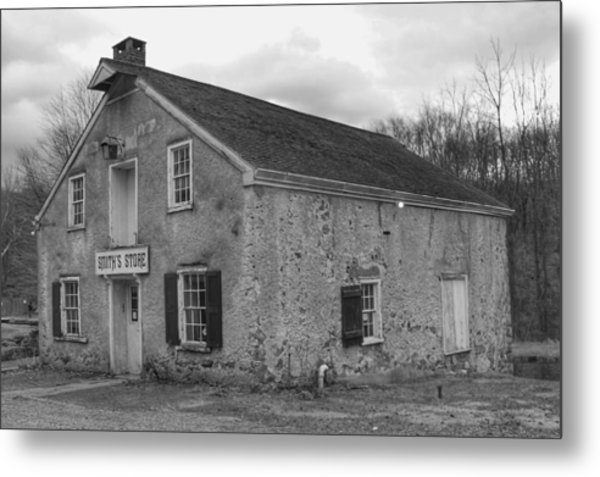 Smith's Store - Waterloo Village Metal Print