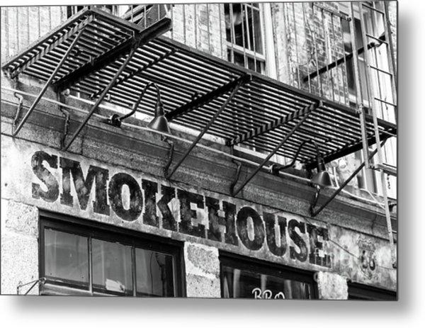 Smokehouse New York City Metal Print by John Rizzuto