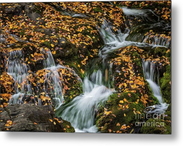 Smokey Mountain Falls Metal Print