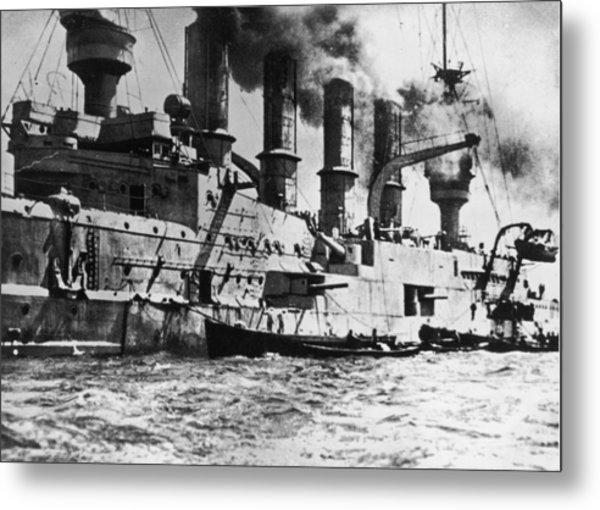 S.m.s Scharnhorst Metal Print by Fotosearch