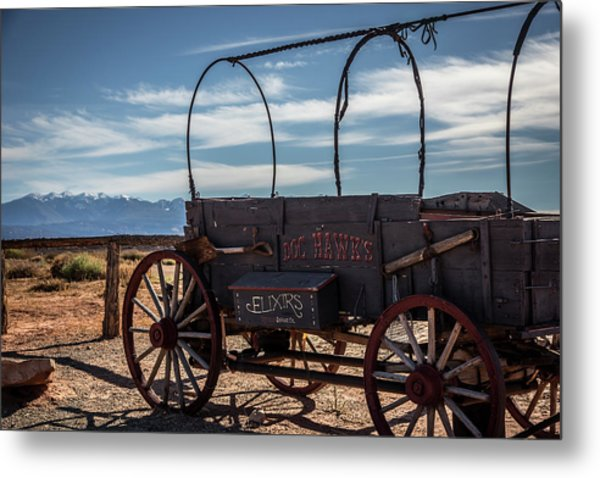 Metal Print featuring the photograph Snake Oil by David Morefield