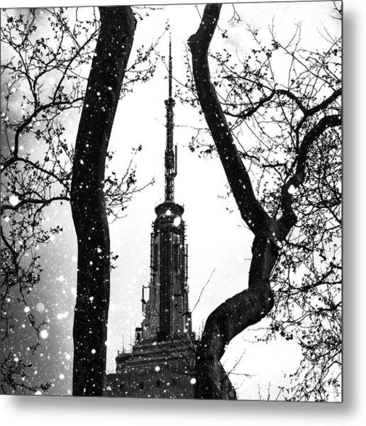 Snow Collection Set 07 Metal Print