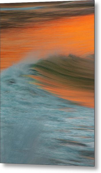 Soft Wave Metal Print