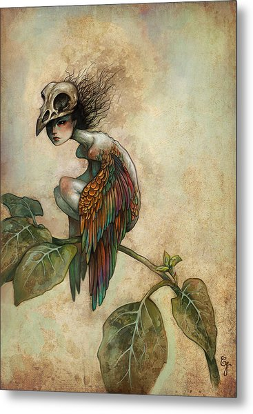 Soul Of A Bird Metal Print